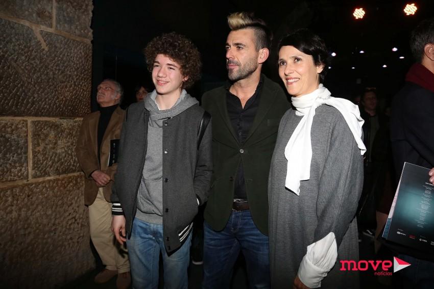 Rodrigo Antunes, Miguel Damião e Fátima Belo