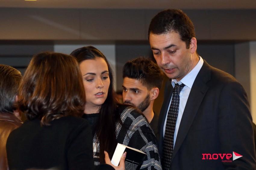 Martim, filho mais velho de Marluce também marcou presença