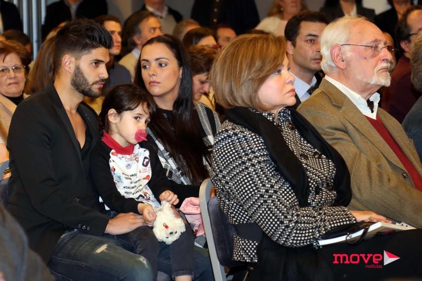 Marluce, Marta esteve com as filhas e com o namorado Gonçalo Quinaz