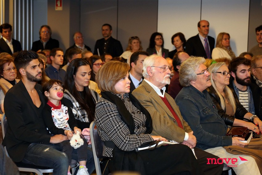 As ex-mulheres de Carlos Cruz, Marluce e Raquel Rocheta estiveram presentes no lançamento do livro