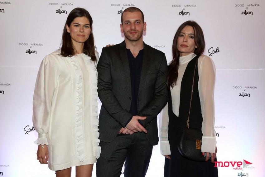 Sónia Balacó, Diogo Miranda e Filipa