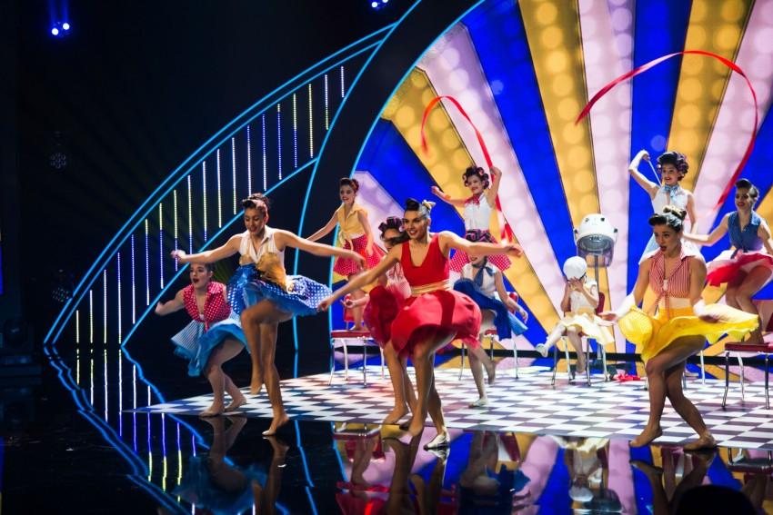 UnikGym Dance com uma dança bem colorida