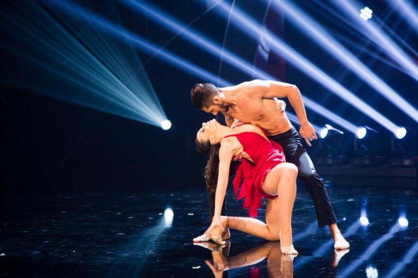 Pedro e Inês, os dançarinos sensuais de salsa
