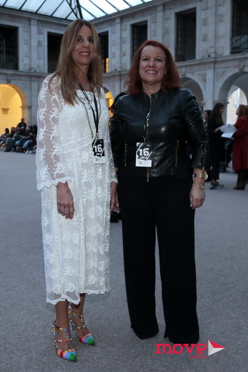 Dina Ornelas Cruz e Casimira Duarte