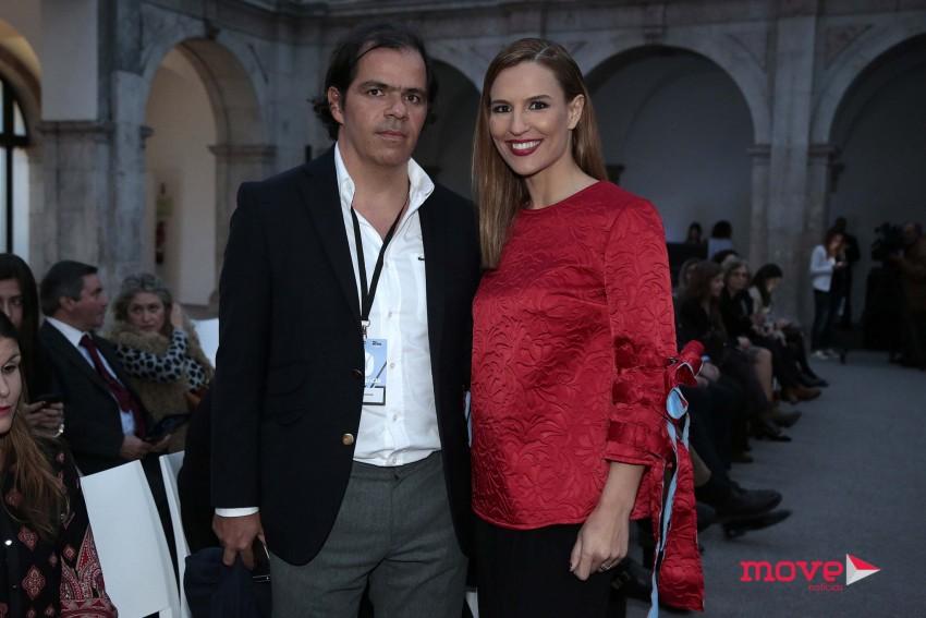 João Rafael Koehler e Ana Rita Clara