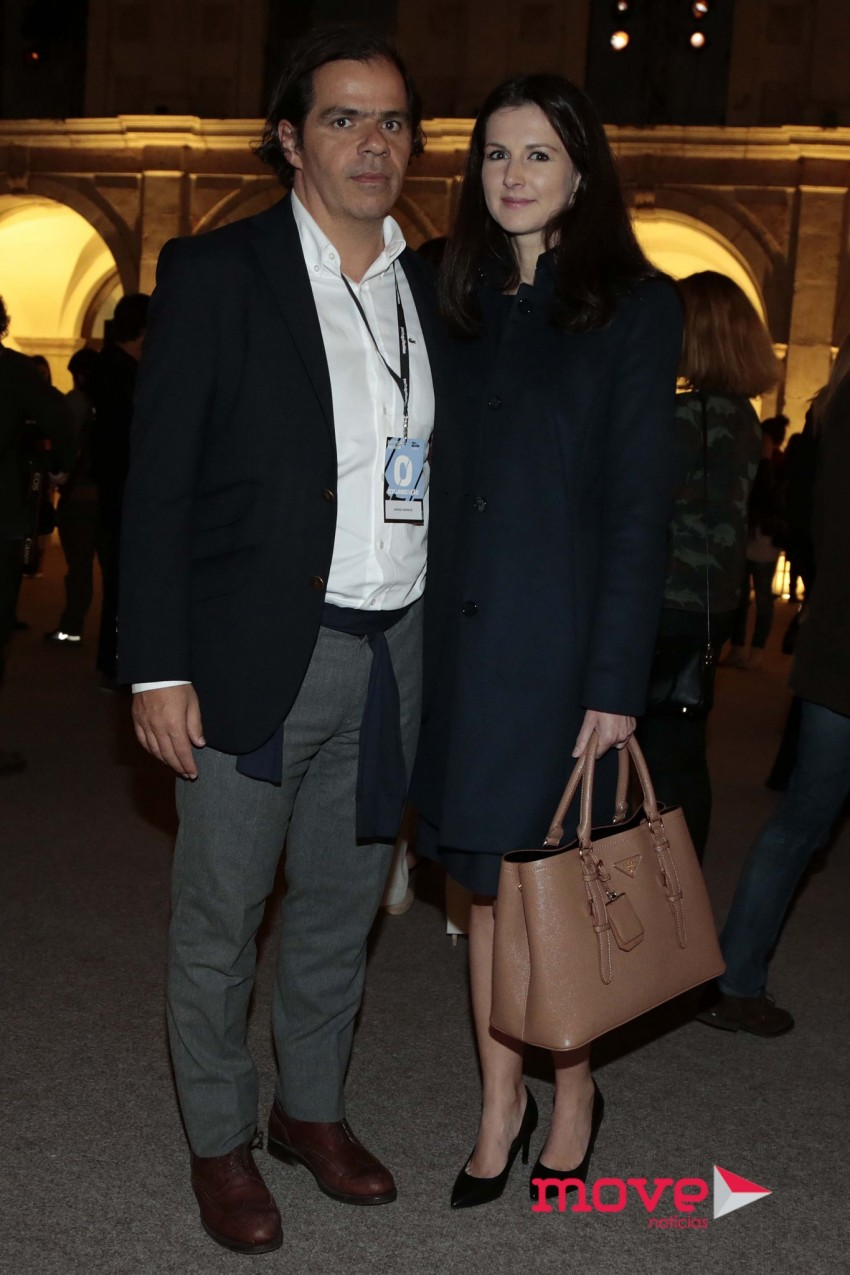 O presidente da ANJE, João Rafael Koehler, com a namorada Victoria Nicolaenko
