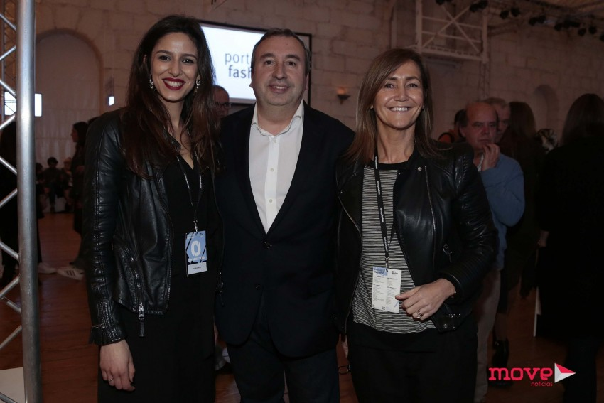 Mónica Neto, Mário Genésio e Catarina Santos Cunha