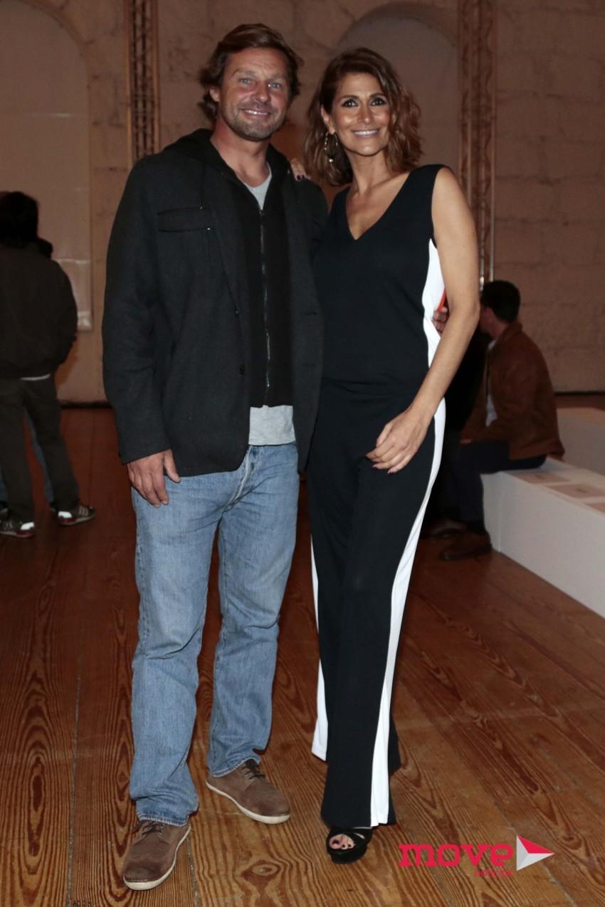Rodrigo de Herédia e Liliana Campos