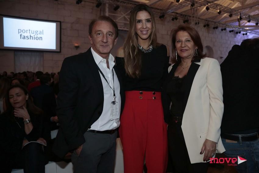 Fernando e Ana Póvoas com Joana Villas-Boas