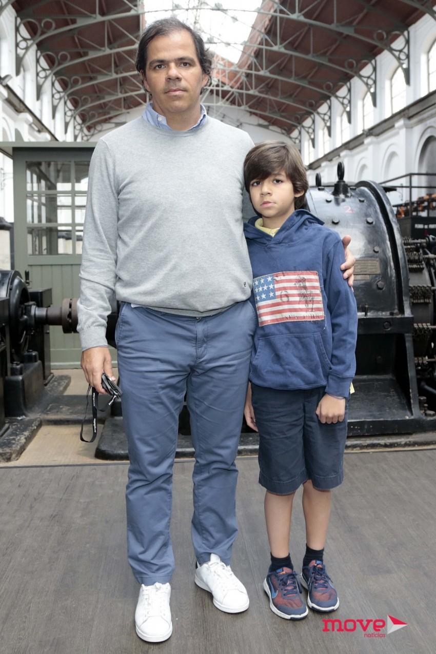João Rafael Koehler e o filho, Rafael