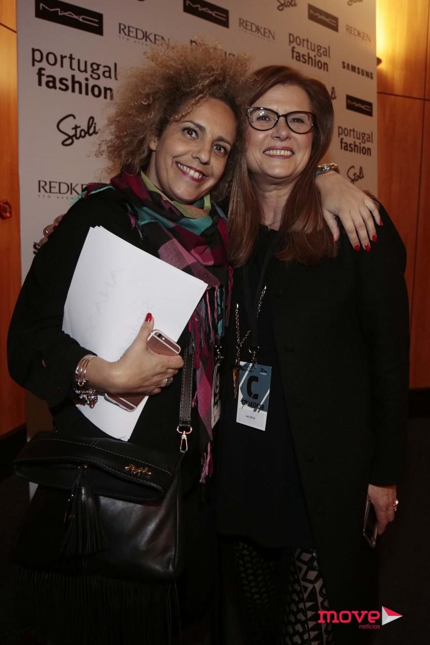 Ângela Teixeira e Ana Sousa