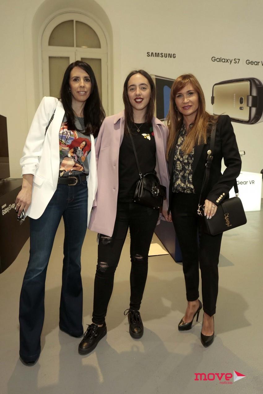 Elsa Leite, Maria João Gonçalves e Fernanda de Oliveira