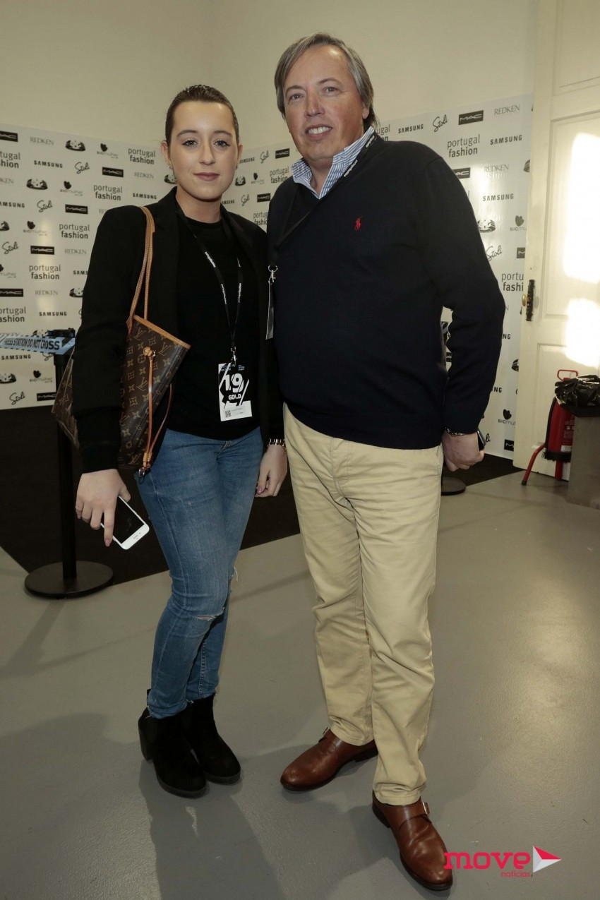 Francisca Salgado e Ricardo Salgado