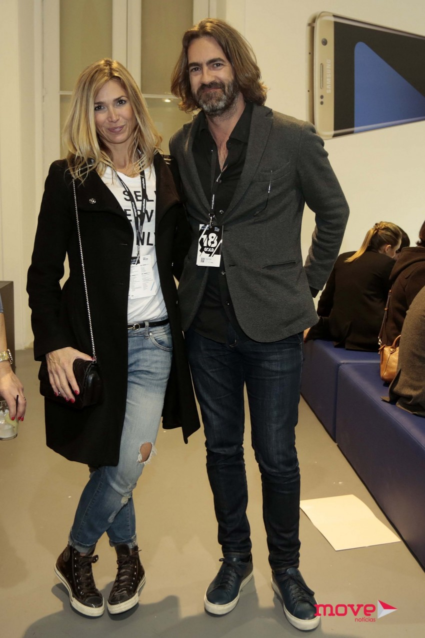 Miguel Júdice com a namorada