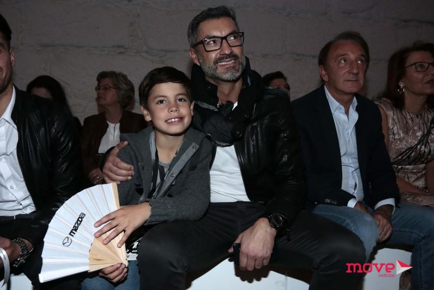 Vítor Baía com o filho Afonso