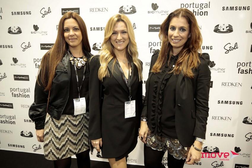 Elsa Barreto com a irmã, Nancy Marques, e a amiga Célia Carneiro