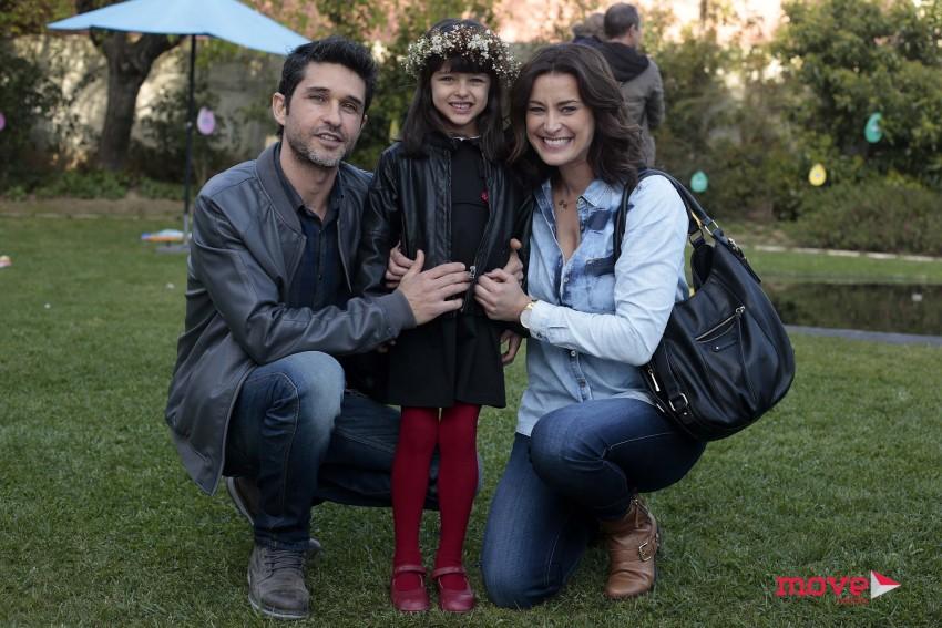 Andeia Dinis, Daniel Teixeira e Flor