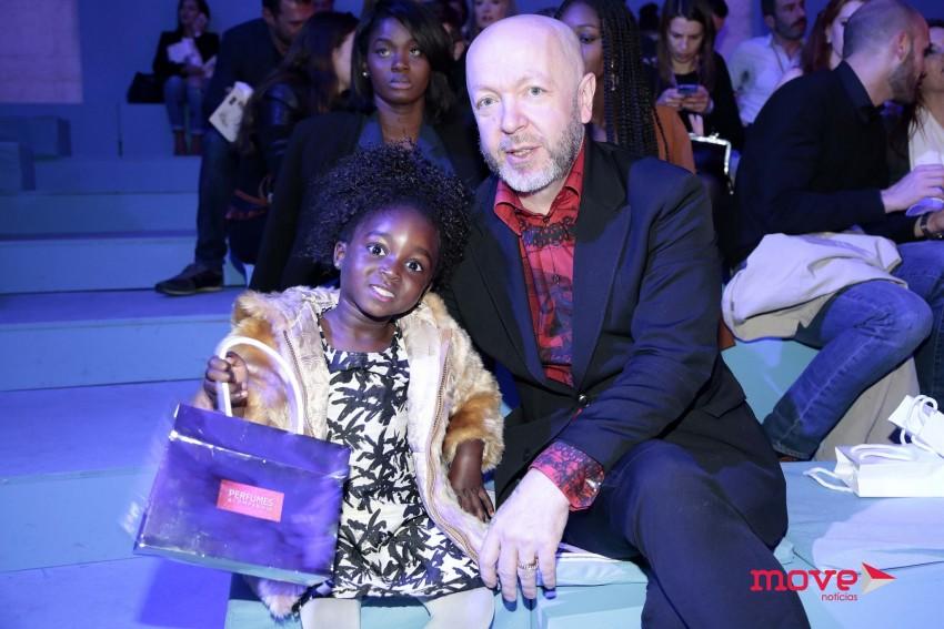 Eduardo Beauté com a filha Lurdes