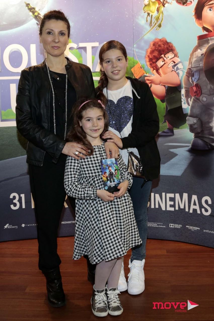 Mafalda Vilhena com as filhas Júlia e Leonor