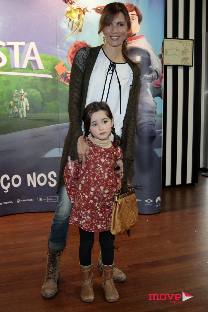 Joana Seixas com a sobrinha Carlota