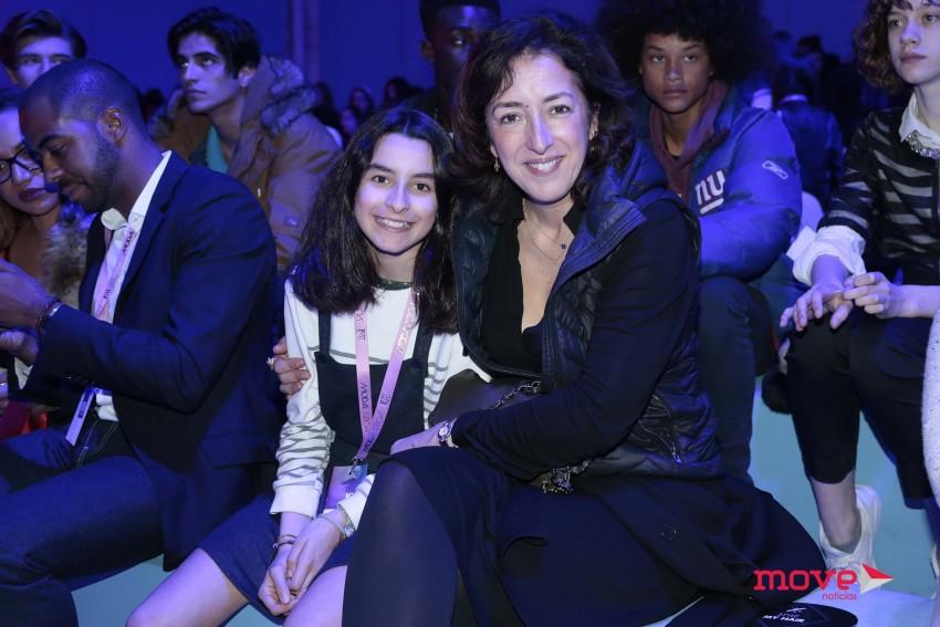 Patrícia Vasconcelos com a filha, Laura