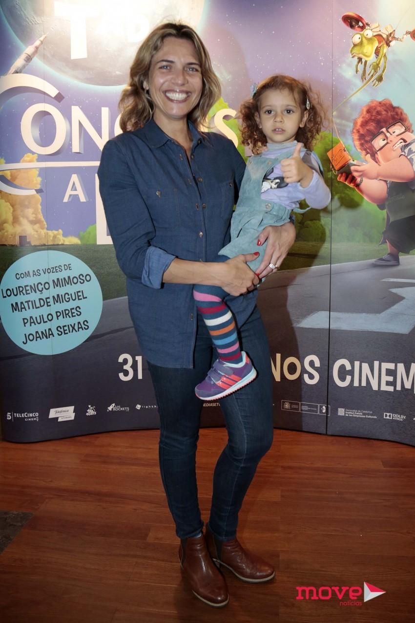 Sandra Felgueiras e a filha Sara