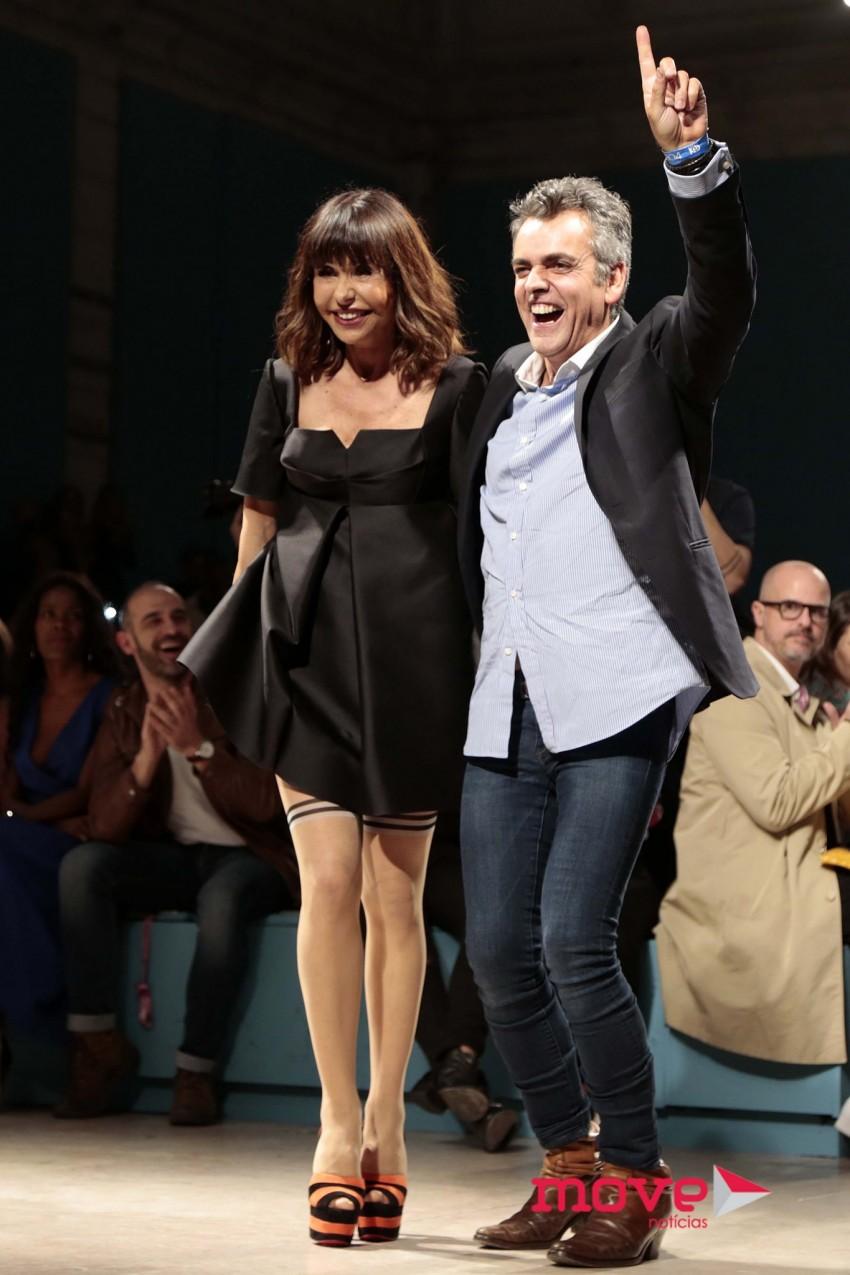 Manuela Moura Guedes e Filipe Faísca