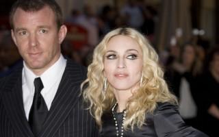 Com o ex-marido, o realizador britânico Guy Ritchie