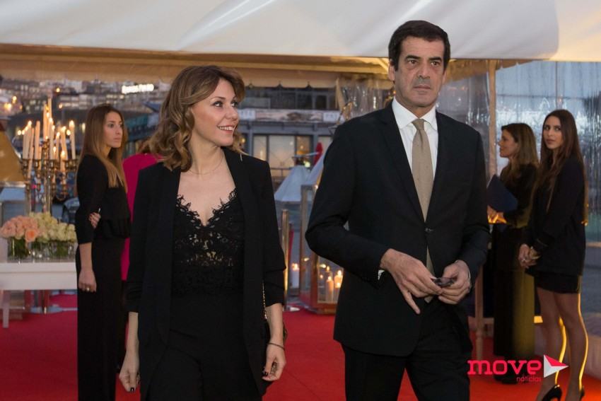 O presidente da câmara do Porto com a namorada, Maria Bochicchio