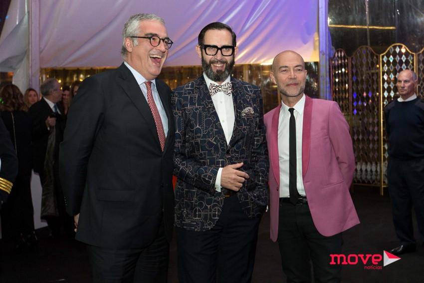 João Pinho, Jacques Bec e Artur Miranda