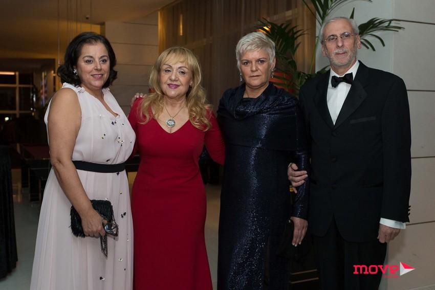 Virgínia Abreu, Maria Clara Gomes, Zulmira Correia e Cidade Rodrigues