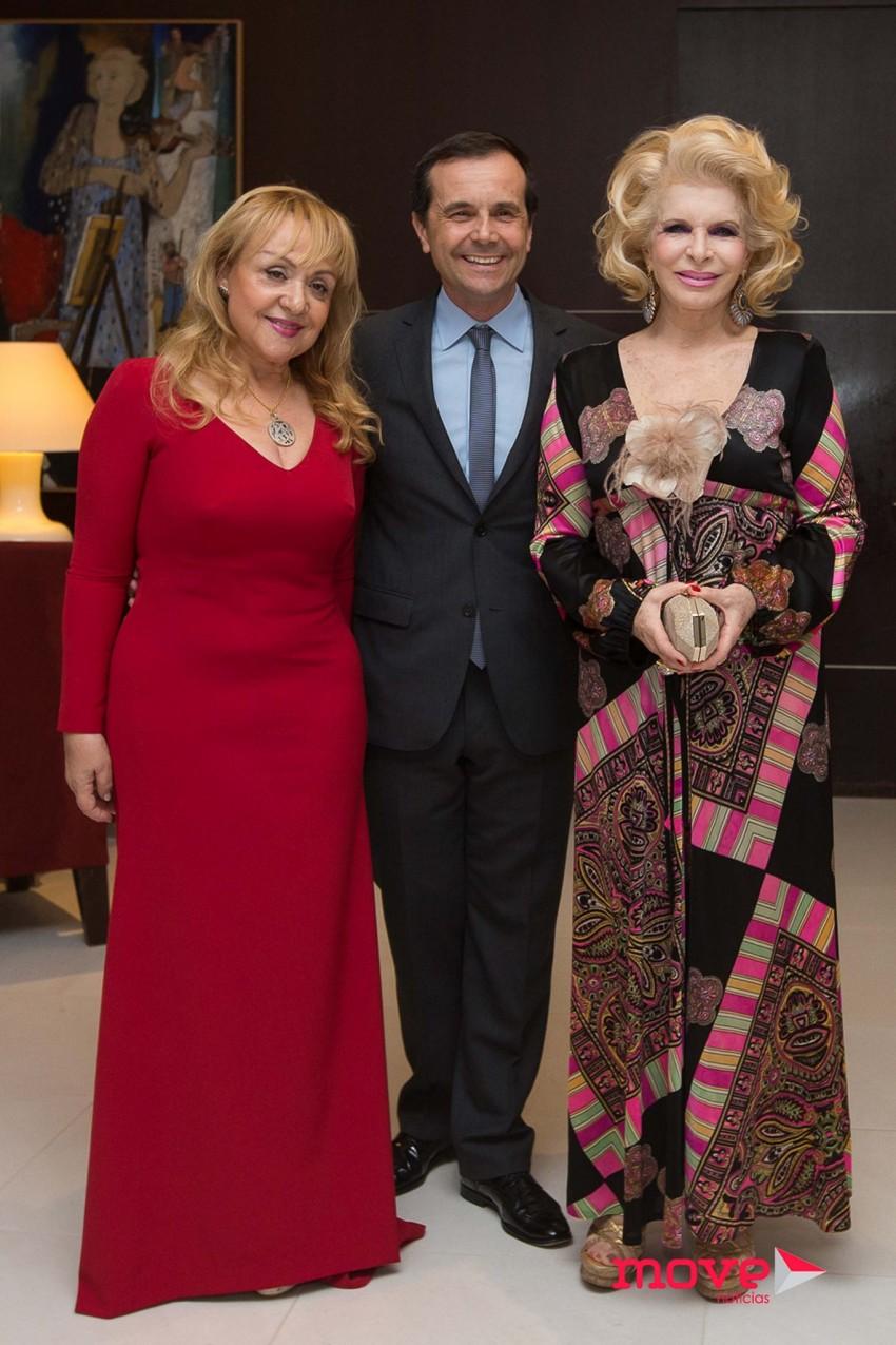 Maria Clara Gomes, Jorge Gabriel e Lili Caneças