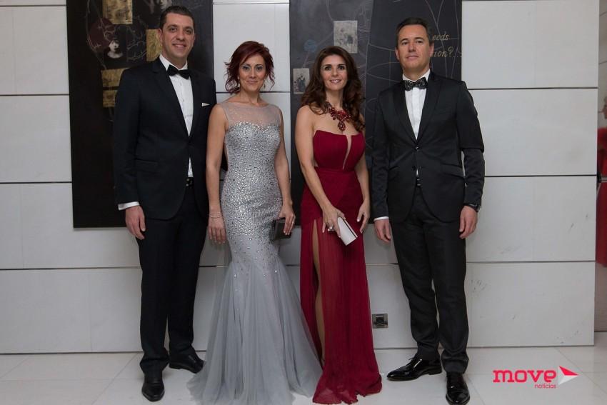 Sérgio e Vânia Teixeira, Resende Sá e Filomena Dias