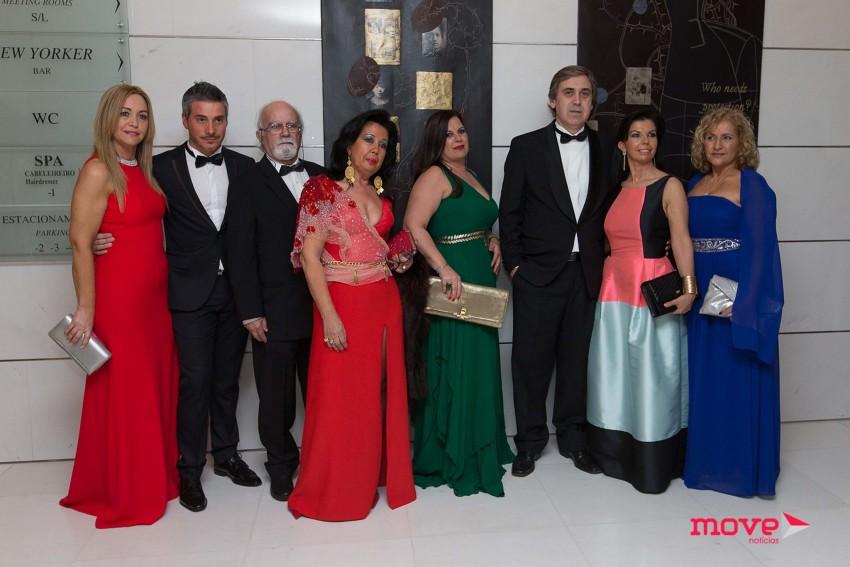 Alguns dos convidados da gala