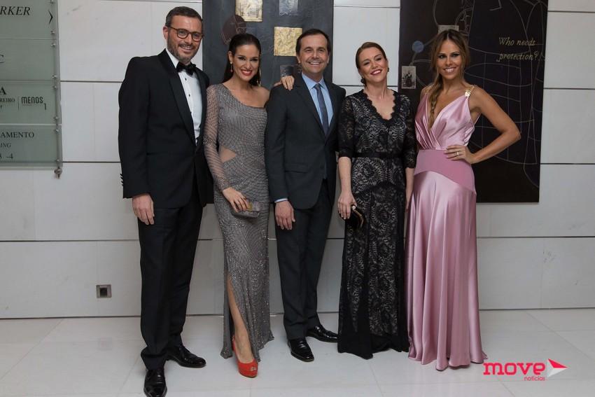 Tiago Girão, Ana bravo, Jorge Gabriel, Sara Girão e Carla Ascenção