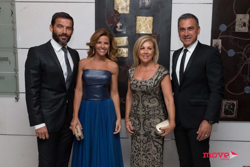 Vítor Martins, Sónia Araújo, Rosa Maria e Eugénio Campos