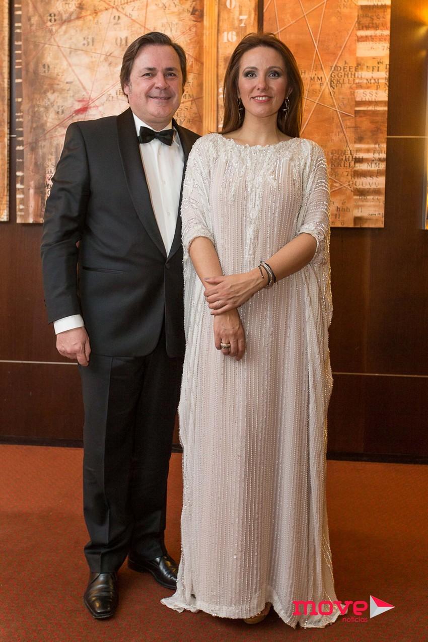 Alfredo Resende e Micaela Oliveira