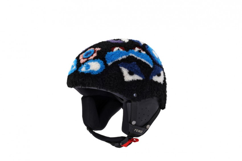 Fendi Winter Sports Bag Bugs Helmet.
