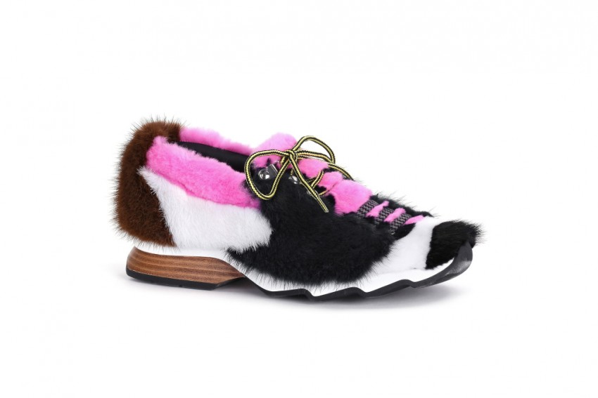 Fendi Mink Trekking Shoes.