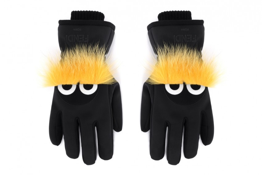 Fendi Bag Bugs Gloves.