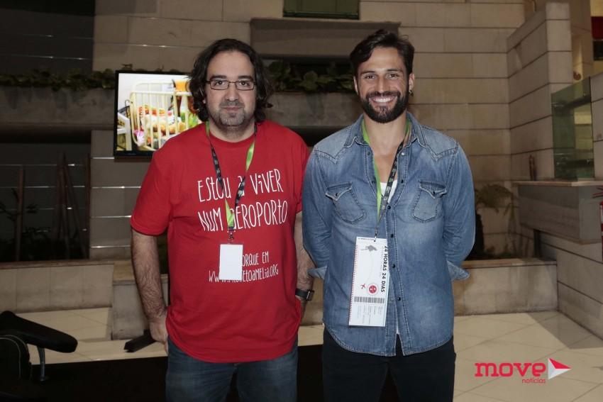 """Fernando Pinho, responsável do """"Projeto Amélia"""" como ator josé Fidalgo"""