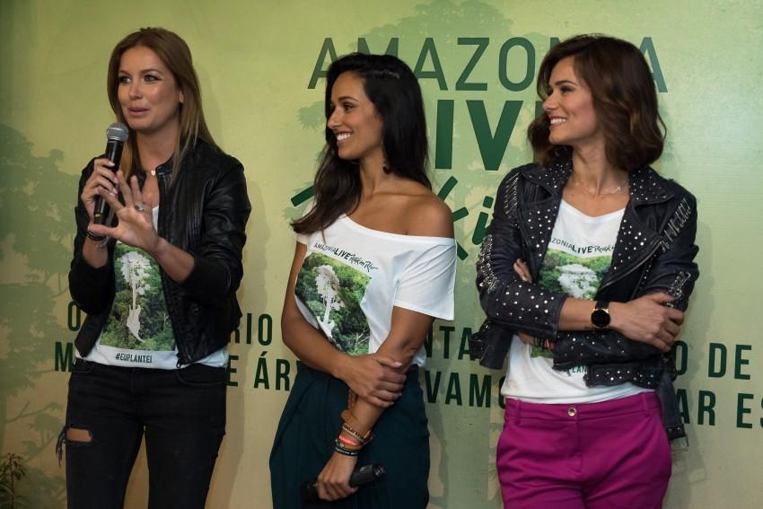 Vanessa Oliveira, Rita Pereira e Cláudia Vieira