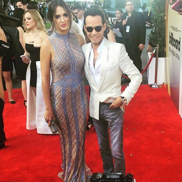 Marc Anthony com a mulher Shannon de Lima