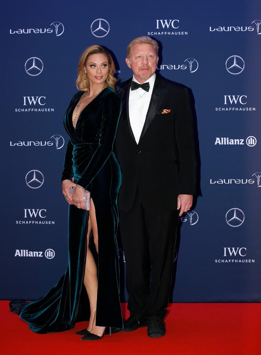 Lilly e Boris Becker