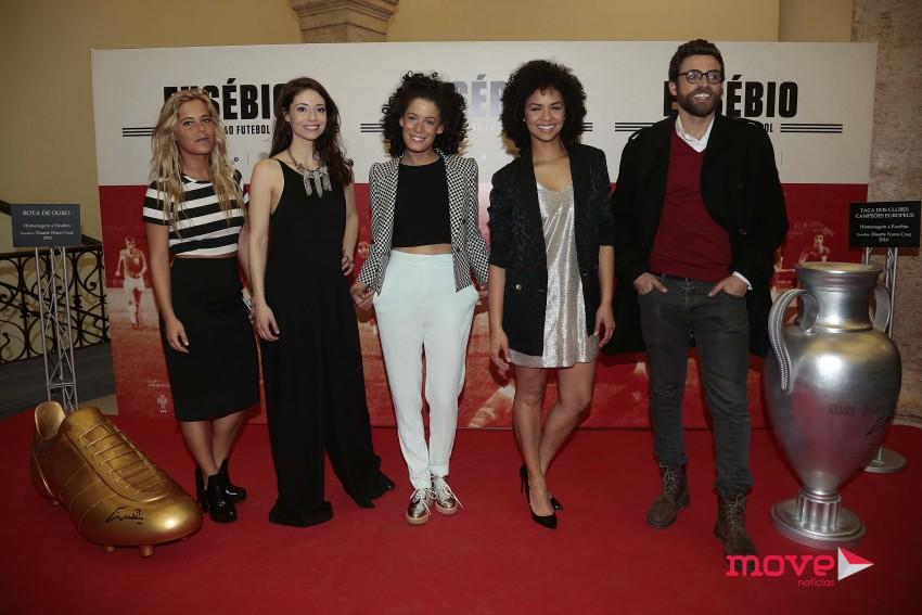 Inês Pereira, Sofia Escobar, Irma Ribeiro, Cláudia Semedo e Gonçalo Amaral