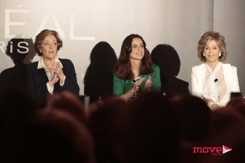 Simone de Oliveira, Margarida Condado e Jane Fonda