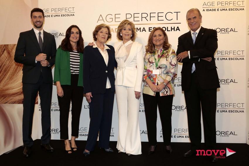 Daniel Oliveira, Margarida Condado, Simone de Oliveira, Jane Fonda, Maria Elisa e Manuel Pinto Coelho