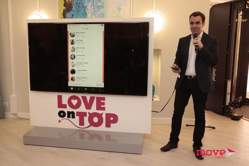 """Ricardo Tomé apresentou a aplicação """"Love on Top"""" aos jornalistas"""