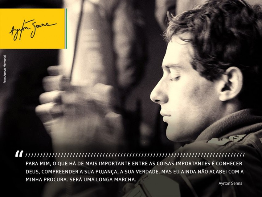 Ayrton Senna  1