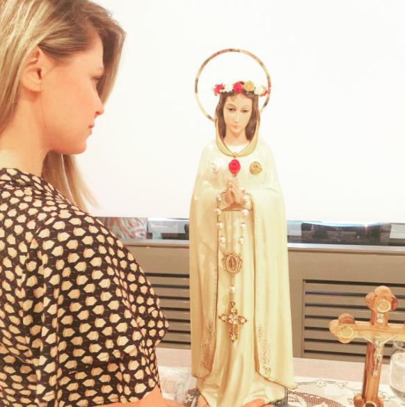 A imagem partilhada por Susana pedindo orações em nome da sua progenitora